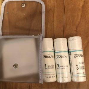 Travel size proactiv kit